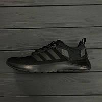 Кроссовки Adidas Neo Camo Black. Живое фото. Топ качество (адидас нео)