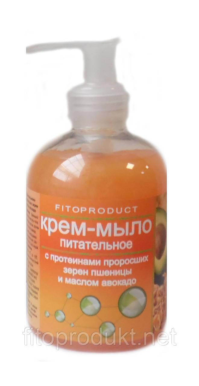 Крем-мыло питательное с протеинами проросших зерен пшеницы и маслом авокадо