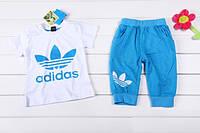 "Летний костюм на мальчика ""Adidas"""