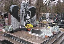 Скульптура ангела из гранита № 14