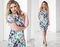 Удобное платье в цветочек