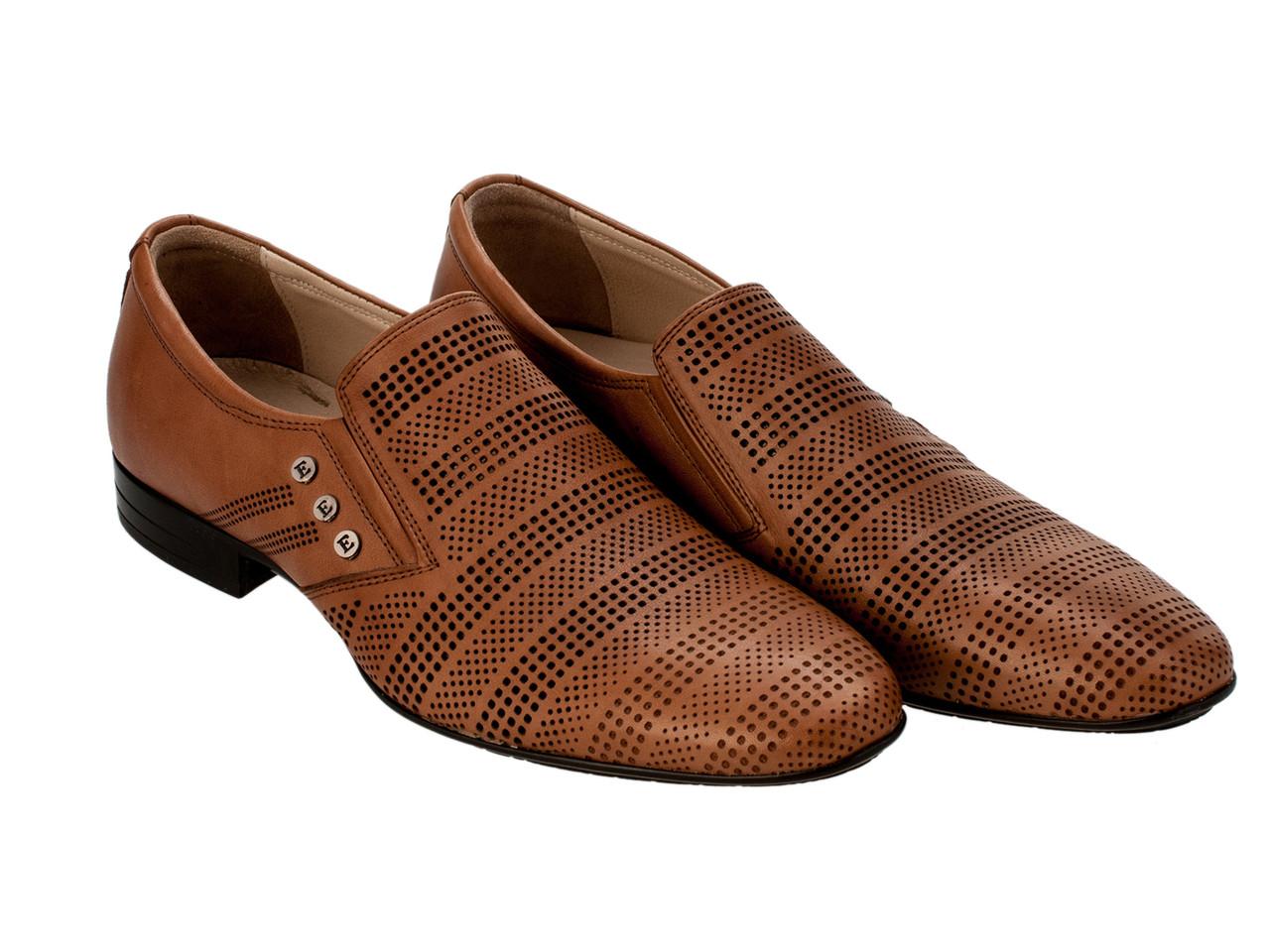 Туфли Etor 11493-7118 бежевые, фото 1