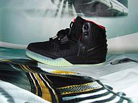 Мужские повседневные кроссовки Nike Air Yeezy 2 SP черные
