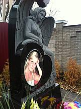 Скульптура ангела из гранита № 21