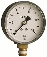 """Манометр Afriso RF для санитарных отопительных систем 1/4"""" радиальное, Ø63 класс точности 2.5, 0-10 бар"""