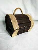 Сундучок дерев'яний