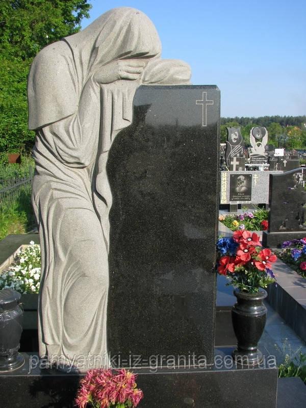 Скульптура плакальщица из гранита № 35