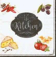 Декупажные салфетки Кухня 6891