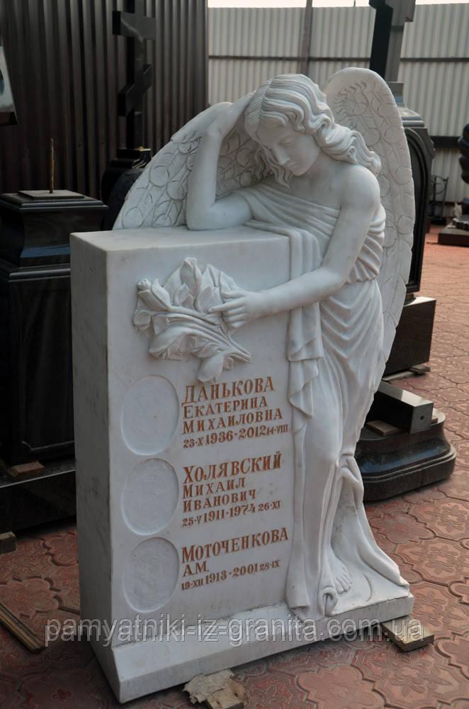 Скульптура ангела из мрамора № 38