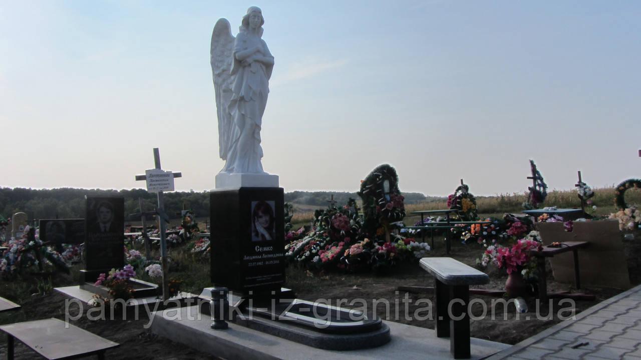 Скульптура ангела из мрамора № 40
