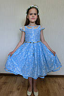 Праздничное платье для девочки. Размеры:  7 лет.