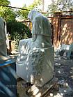 Скульптура плакальщица из мрамора № 43, фото 3
