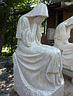 Скульптура плакальщица из мрамора № 43, фото 4