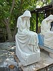 Скульптура плакальщица из мрамора № 43, фото 5