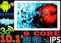 Надежный игровой планшет 8 ядер, экран 10.1, 32 Gb , IPS, GPS, HDMI