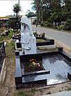 Скульптура плакальщица из мрамора № 49, фото 3