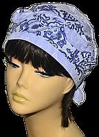 Бандана  женская Голубка  Печати  стильная, модная, летняя, красивая  из хлопка