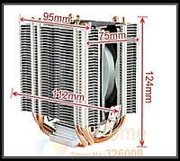 Кулер CPU CAH-409-09;  9cm; 4 медных трубки; LGA1151 775 1150 for AMD