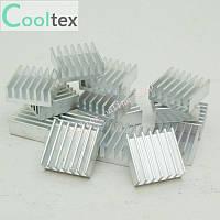 Алюминиевый радиатор 14x14x6 мм