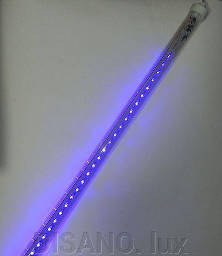 Светодиодная гирлянда Тающая Сосулька 80 см LED синий  IP65