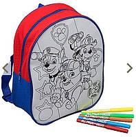 Рюкзак-раскраска Щенячий патруль