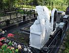 Скульптура ангел из мрамора № 54, фото 3