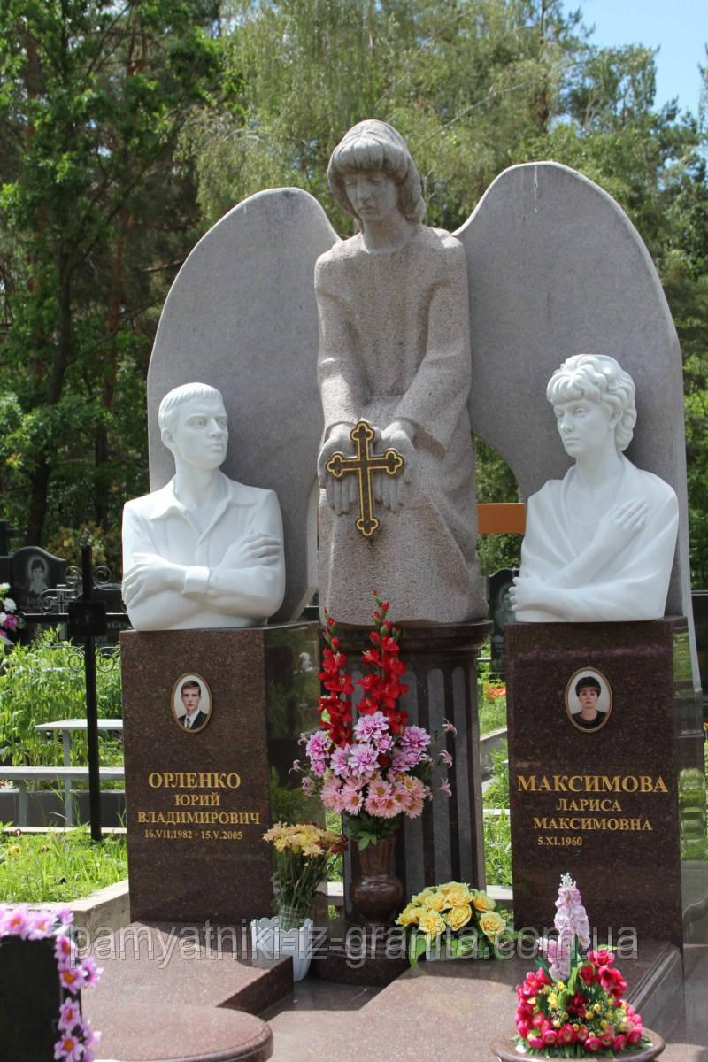 Скульптура ангела из гранита № 56