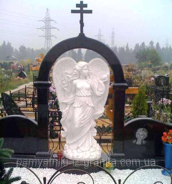Скульптура ангела из мрамора № 62