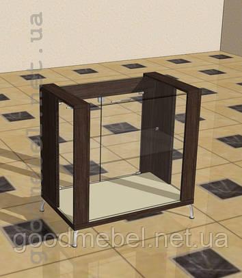 Прилавок стеклянный 5-06