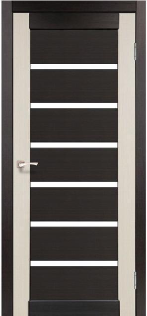 Двери Korfad PC-02 Венге/ Дуб беленый