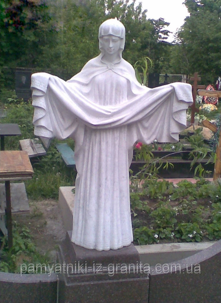 Скульптура святая дева из мрамора № 70
