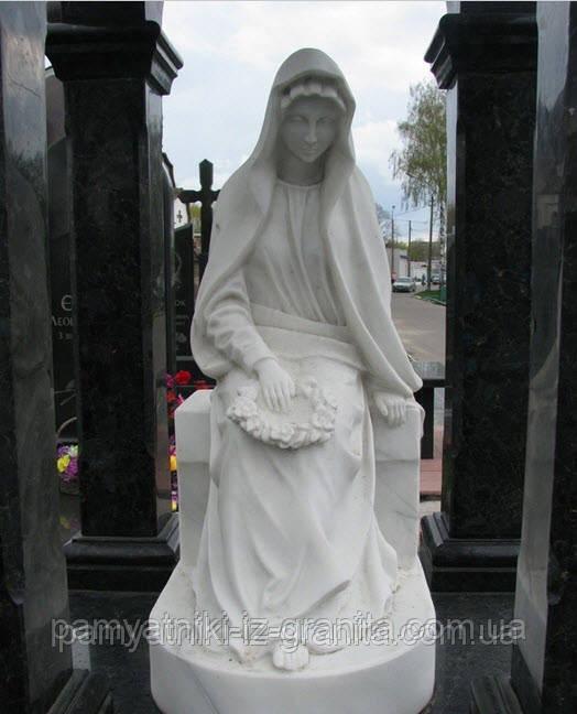 Скульптура святая дева из мрамора № 74