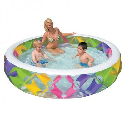 Детский надувной бассейн 56494 Intex 229-57 см