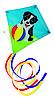Ромбовидный воздушный змей щенок Бобби, Paul Guenter