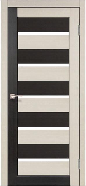 Двери Korfad PC-05 Дуб беленый/ Венге