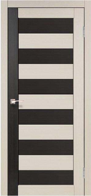 Двери Korfad PC-03 Дуб беленый/ Венге