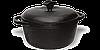 Кастрюля чугунная с крышкой 8 литров