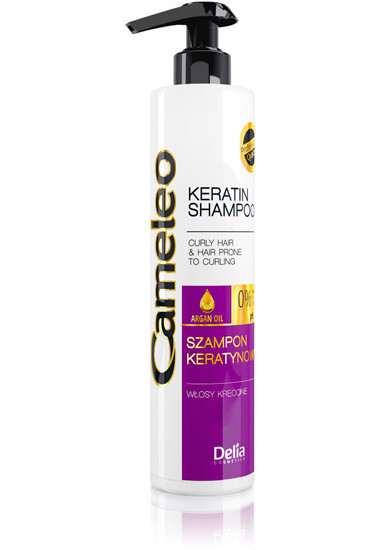 Шампунь для волос Delia Cosmetics Cameleo для вьющихся волос 250 мл