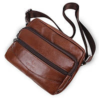 Мужская кожаная сумка (натуральная кожа)