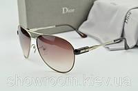 Солнцезащитные очки авиаторы Homme (коричневая оправа)