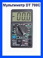 Мультиметр универсальный DT-700C со звуком, цифровой мультиметр, измерительный прибор!Хит