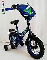 Велосипед детский Stels Pilot 100 Pink 12 дюймов. Blue