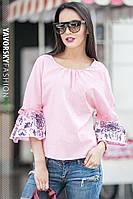 Женская летняя блуза хлопок