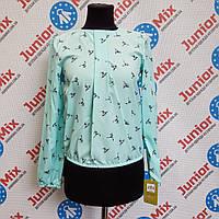 Блузка цветная на девочку  Zibi