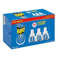 Raid жидкость для электрофумигатора от комаров, 3 х 21 мл