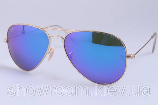 Мужские солнцезащитные очки в стиле RAY BAN aviator large metal 001/17 LUX