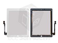 Сенсорный экран для планшетов Apple iPad 3, iPad 4, белый