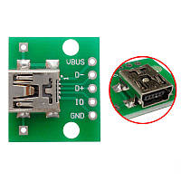 Перехідник адаптер miniUSB - DIP 5pin