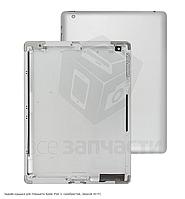 Задняя крышка для планшета Apple iPad 3, серебристая, (версия Wi-Fi)