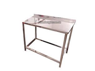 Разделочный стол для ресторана без полки